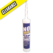 No Nonsense All-in-One Adhesive, Sealant & Filler White 290ml